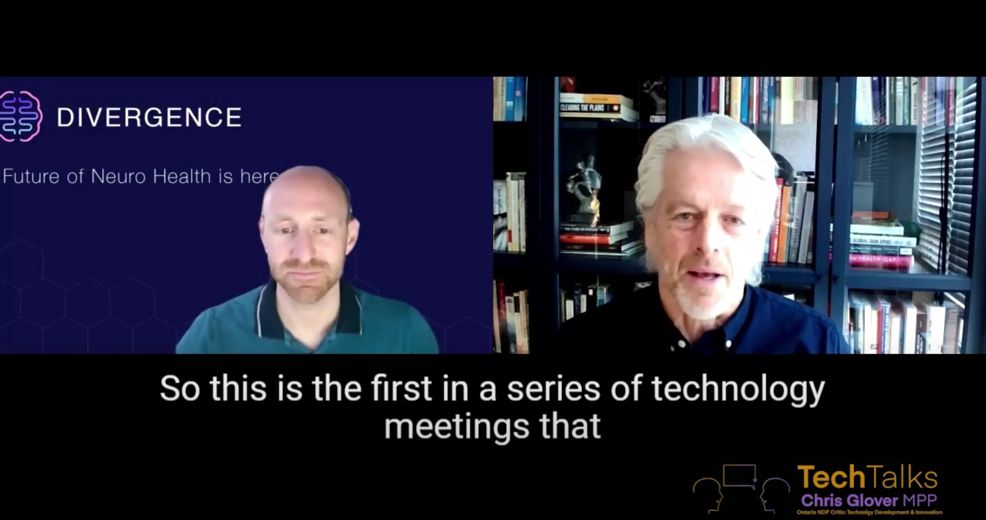 Divergence Appears with MPP and Ontario NDP Technology Development and Innovation Critic, Chris Glover, on Tech Talks